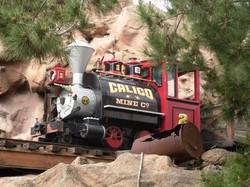 Calico Mine Train