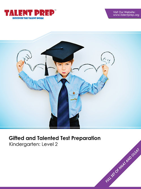 Talent Prep Gifted & Talented Test Preparation Kindergarten: Level-2