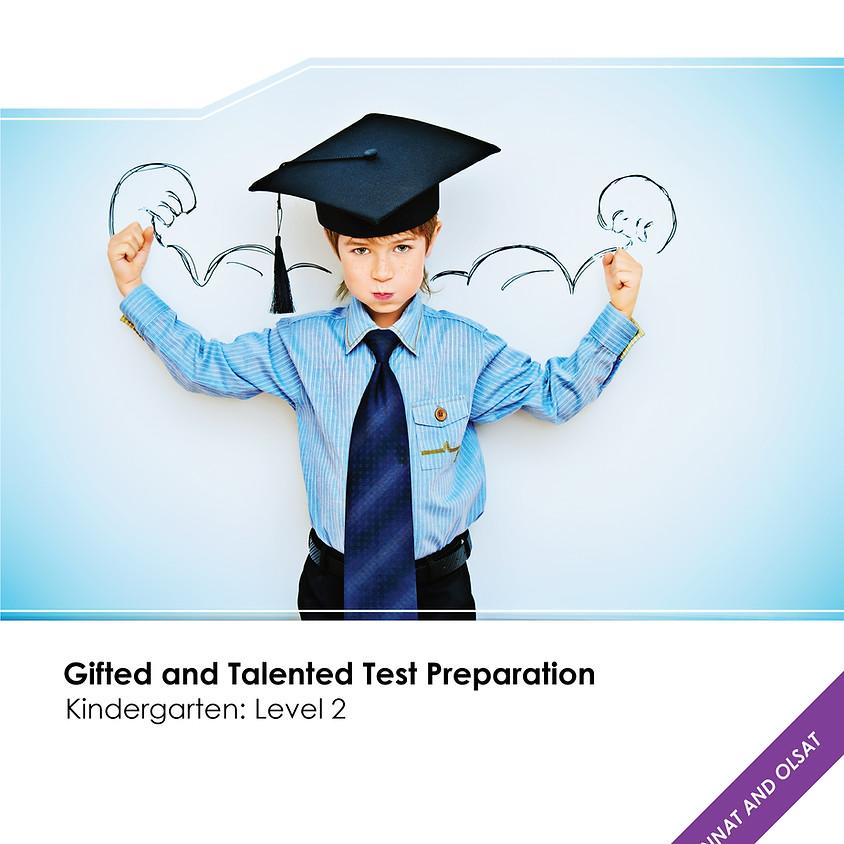 Talent Prep Gifted & Talented Test Preparation Kindergarten: Level-2 ($39.99)