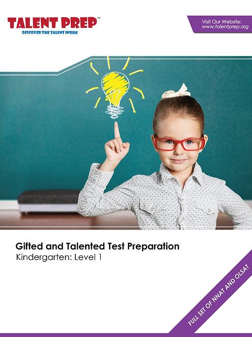 Talent Prep Gifted & Talented Test Preparation Kindergarten: Level-1