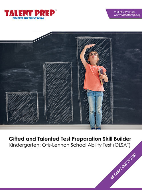 Talent Prep Gifted & Talented Test Preparation Kindergarten: OLSAT Skill Builder