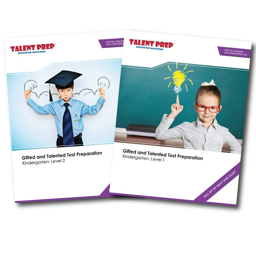 Test Warrior Combo - Talent Prep Gifted & Talented Test Preparation Kindergarten: Level-1&2 ($69.99)