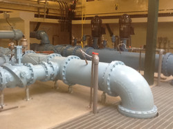 Any size flange piping