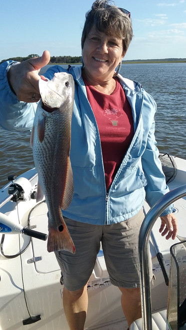 Her first Redfish