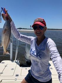 Got her Redfish