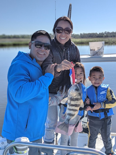 Mom with a Black Drum