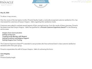 Customer Experience Award
