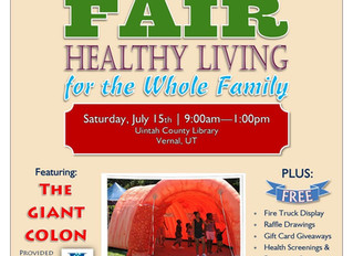 Join us July 15th in Vernal for the Community Health Fair!
