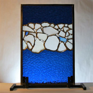 Standing Sea Glass Panel