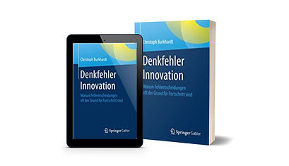 Denkfehler Innovation Christoph Burkhard