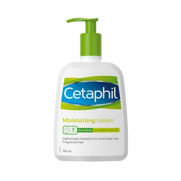 Cetaphil Moisturizing Lotion pump face and body