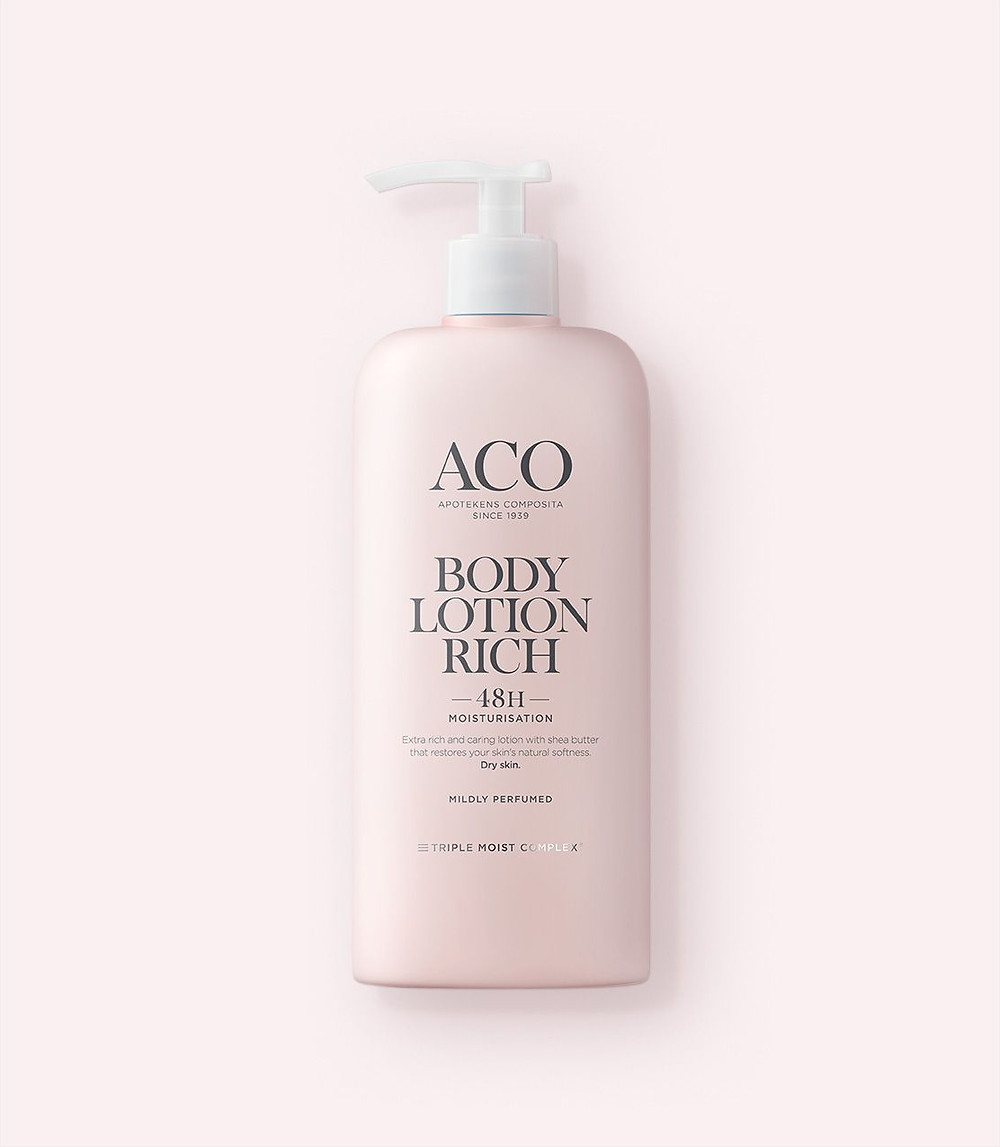Body Lotion Rich lätt parfymerad aco 48H moisturisation