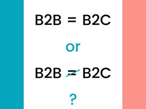 B2B vs B2C: 4 differences that should influence your Marketing strategy