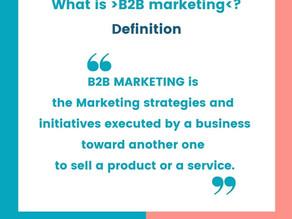 What is B2B Marketing in 4 key principles