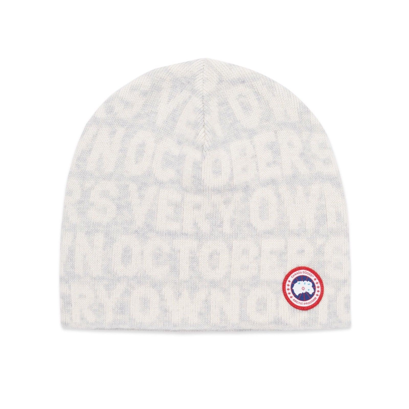 OVO October's Very Own x Canada Goose Boreal Beanie (White)