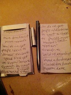 Think Tank Notes