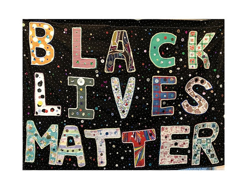 Black Lives Matter - single greeting card