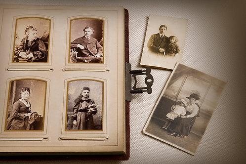 Pack de 5 photographies en format numérique