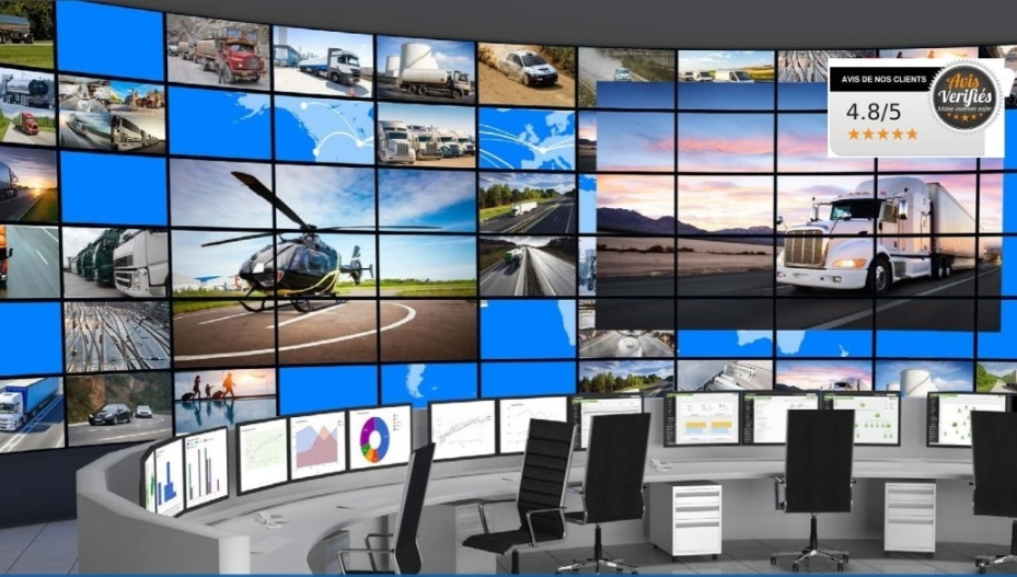Camera video surveillance poste controle visio