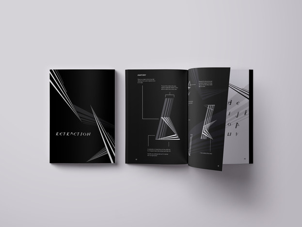 Refraction Typeface