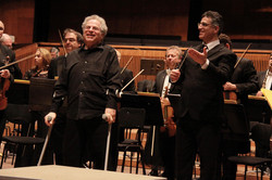 With Itzhak Perlman and the IPO