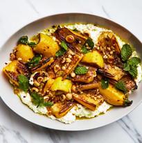 marinated-zucchini-with-hazelnuts-and-ri