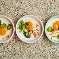 baked-eggs-with-coconut-milk-and-cilantr