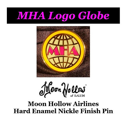 MHA Logo Globe Nickel Pin