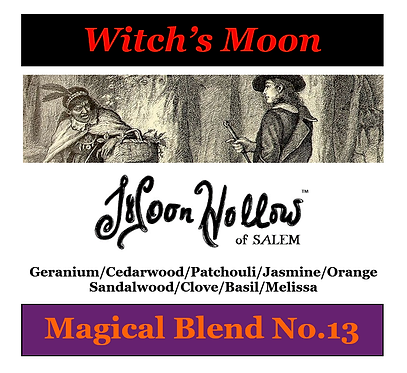 Blend No.13: 4oz. 'Witch's Moon' Magical Blend