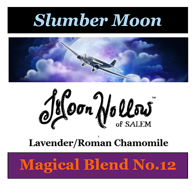 Blend No.12: 4oz. 'Slumber Moon' Magical Essential Oil Spray