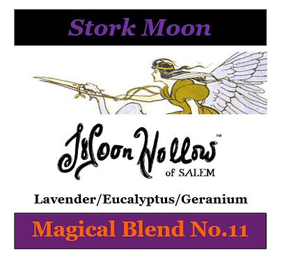 Blend No.11: 4oz. 'Stork Moon' Magical Essential Oil Spray