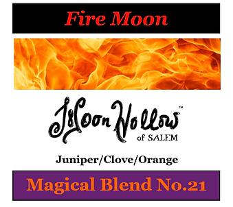 Fire Moon Spray Image - January-25-2021.