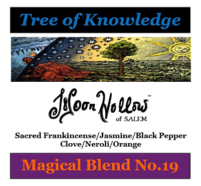 Blend No.19: 4oz. 'Tree of Knowledge' Magical Blend