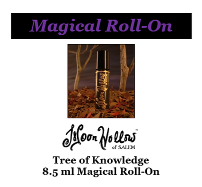 8.5ml 'Tree of Knowledge' Magical Roll-On