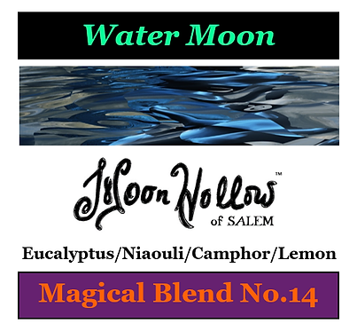 Blend No.14: 4oz. 'Water Moon' Magical Essential Oil Spray