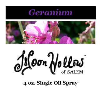 4oz. Geranium Magical Essential Oil Spray
