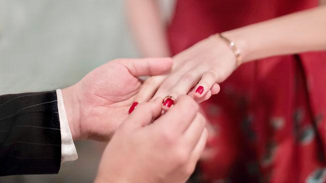 Wedding,ring, red