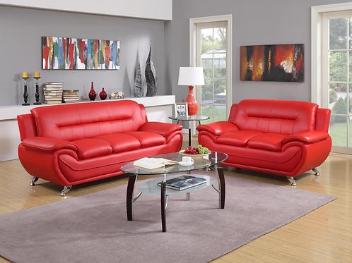U2703 Sofa & Loveseat Set