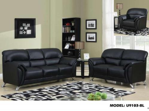 U9103 Sofa & Loveseat Set
