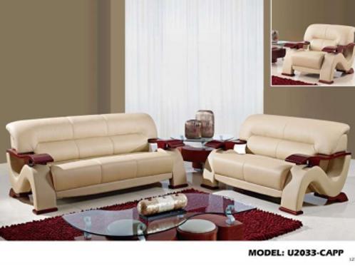 U2033 Sofa & Loveseat Set