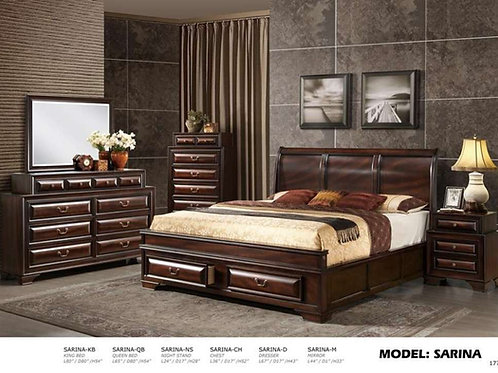 Sarina 5PC Bed Group