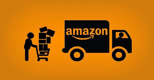 Drawing-of-a-truck-with-amazon-logo-bein