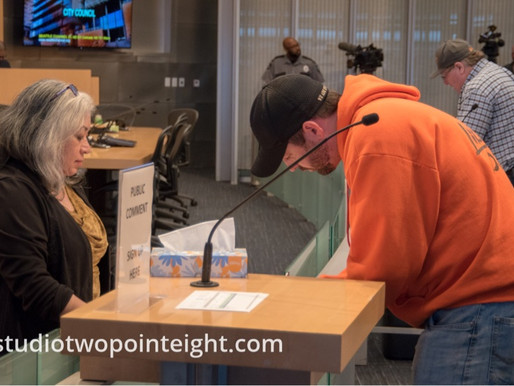 Some Washington Three Percent Members Attended The Seattle City Council Meeting on March 18, 2019