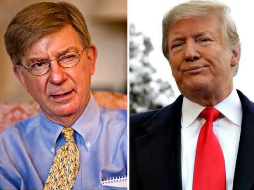 Trump Mocks 'Amazing Breed' of Never Trumpers, Slams 'Almost Deranged' 'Poor Bastard George Will