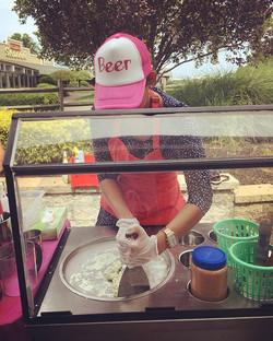 _lovechayen #icecreamroll #mychayenfoodtruck #mychayenfoodstand