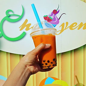 Thai Tea Bubble Tea