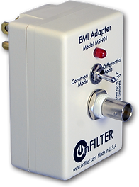 OnFILTER' Power Line EMI Adapter MSN01