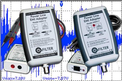 Power line EMI Adapters