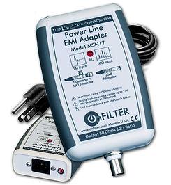 OnFILTER' Power Line EMI/PLC Adapter MSN17