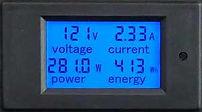 Display of Power Distribution Unit (PDU) AR series